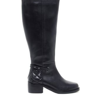 ASOS COLLOSAL Leather Knee Boots