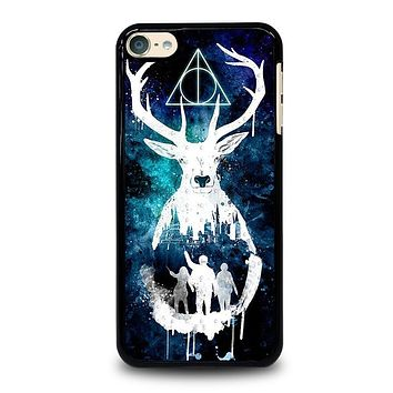 DEATHLY HALLOWS HARRY POTTER AQUARELL iPod 4 5 6 Case