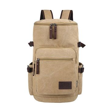 Canvas Bucket Backpack - Approximately 45L