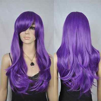 Sexy Costume Wig Women's Synthetic Hair Emo Punk Goth Fetish Role Play Wigs for women wigs fast deliver
