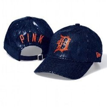 Detroit Tigers Bling Baseball Hat - PINK - Victoria's Secret