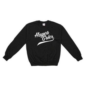 Hayes Grier Hayes Grier Athetic Crew Neck Sweatshirt - BLV Brands