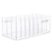 Acrylic Lip Gloss Lipstick Holder Organizer w/ 24 Stand (Transparent)