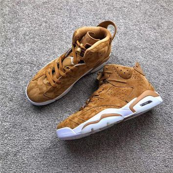 DCC3W Air Jordan 6 'Golden Harvest'