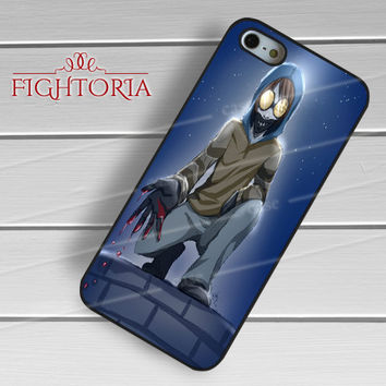 Creepypasta Ticci Toby - zAAz for  iPhone 4/4S/5/5S/5C/6/6+s,Samsung S3/S4/S5/S6 Regular/S6 Edge,Samsung Note 3/4
