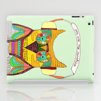 The Owl rustic song iPad Case by Budi Satria Kwan