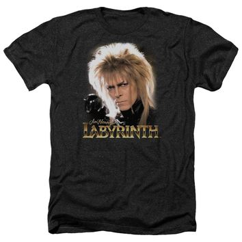 Labyrinth - Jareth Adult Heather Officially Licensed T-Shirt Short Sleeve Shirt