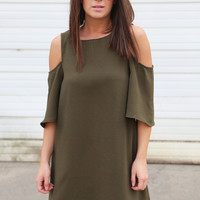Olive This World Dress