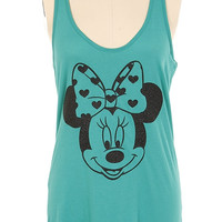 Disney Aqua Minnie Tank