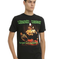 Marilyn Manson Portrait Of An American Family Cover T-Shirt