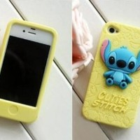 Cuties Stitch 3D Soft Shell Case for iPhone 4/4S