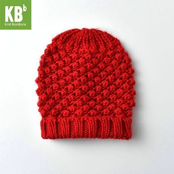 PEAPUNT SALE KBB Multicolor Christmas Seasonal Colorful Children Women Men Knit Warm Stylish Winter Hat Beanie