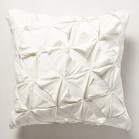 Basal Euro Sham by Anthropologie Ivory Euro Sham Bedding