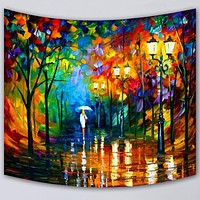 Wall Hanging Blanket Tapestry Beach Throw Towel Home Decorative Painting Printed Supersoft Tapestries Beach Mat