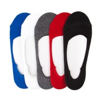 Mens Casual Liners 5 Pack