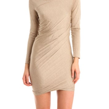 3.1 Phillip Lim Drape Dress in Willow
