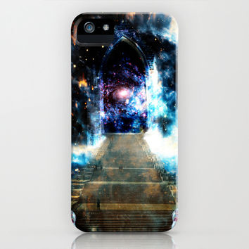 Galactic Doorway iPhone & iPod Case by Nate4D7