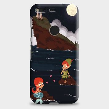 Peter Pan And Ariel Mermaid Google Pixel XL Case