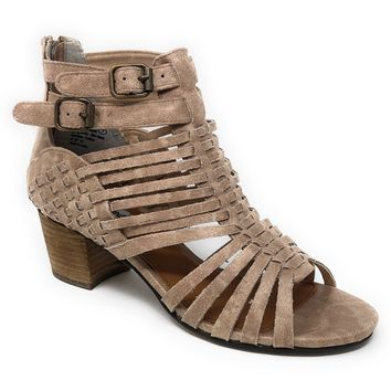 Not Rated Ofanto Cream Strappy Heeled Sandals