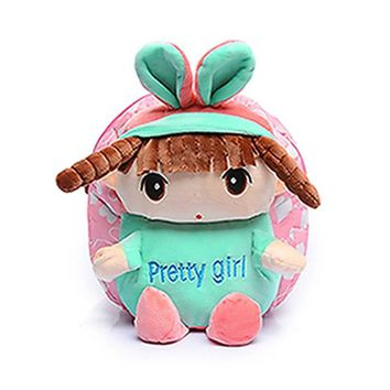 Toddler Backpack class 2017 Canvas Mini Small Baby Kids Schoolbag Cartoon Toddlers Early Education Bags Backpack Shoulder Bag New Fashion Cute Cartoon AT_50_3