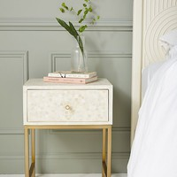 Star Inlay Nightstand