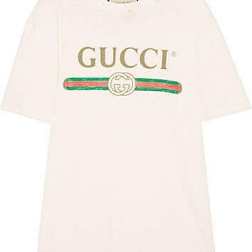 Vintage Distressed T-Shirt by Gucci