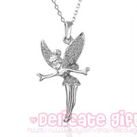 Disney New Peter Pan Quote necklace Disney necklace Fairy necklace Personalized necklace GIFT031