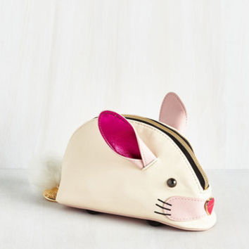Quirky Too Bunny for Words Clutch by Betsey Johnson from ModCloth