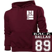 Magcon Dallas 89 hoodie unisex adults size s-4xl