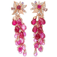 M'O Exclusive: Ruby Coralbell Earrings | Moda Operandi