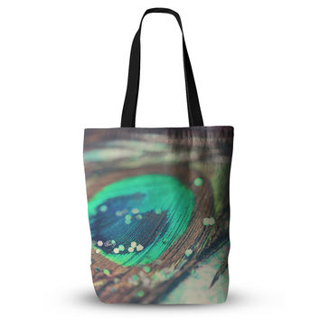"Beth Engel ""Peacocks Dream"" Everything Tote Bag"