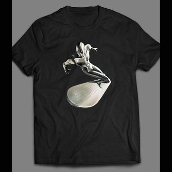 THE SILVER SURFER SPACE SURFING ART SHIRT