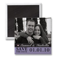 Save the Date Magnets from Zazzle.com