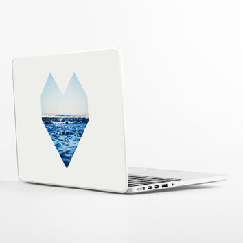 Ocean Heart Laptop Skin