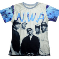 N.W.A. Straight Outta Compton Sublimation Print Shirt