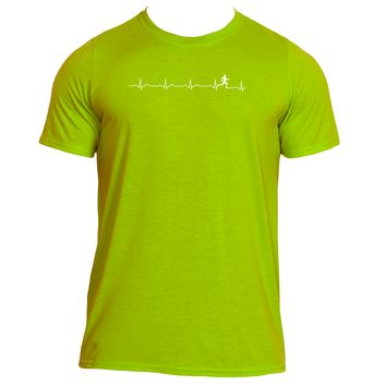 Runner's Heartbeat| Men's Performance™ T Shirt |Underground Statements