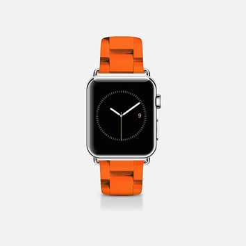 Links orange Apple Watch Band (38mm) by WAMDESIGN | Casetify