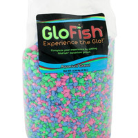 Glofish Aquarium Neon Multi-Colored Gravel 5 lbs