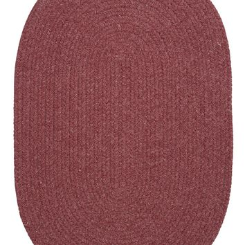 Colonial Mills Bristol WL29 Mauve Traditional Area Rug