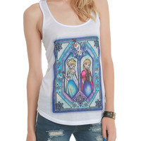 Disney Frozen Stained Glass Girls Tank Top