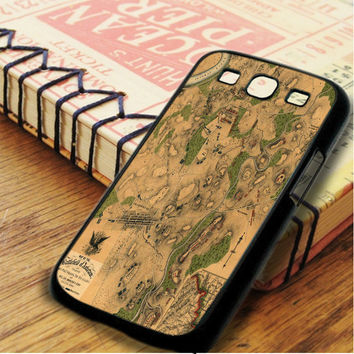 Vintage War Battle Map Samsung Galaxy S3 Case