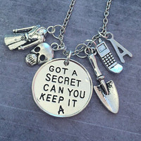 Got A Secret Can You Keep It Ultimate Necklace - Pretty Little Liars Jewelry - PLL Jewelry - Fandom Jewelry