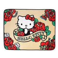 Hello Kitty Soft Throw Blanket: Rose Collection