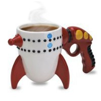 JisJass Collections - Big Mouth Toys The Retro Ray Gun Rocket Mug
