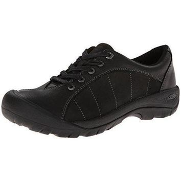 KEEN Women's Presidio Oxford,Black/Magnet