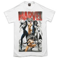 Marvel Comics Bad Girls Superhero Adult T-Shirt Tee 2Bhip