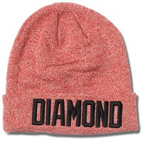 Diamond Supply Co. Reggie Beanie - Red