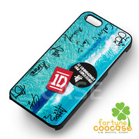 1D and 5sos signature-N41yh for iPhone 4/4S/5/5S/5C/6/ 6+,samsung S3/S4/S5,S6 Regular,S6 edge,samsung note 3/4