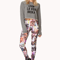 Run Wild Graphic Leggings