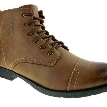 Polar Fox Men's 537 Ankle High Military Combat Boots